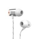 MARLEY Uplift 2.0 - Silver, sluchátka do uší s ovladačem a mikrofonem