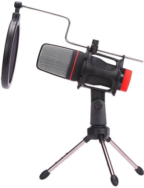 Marvo MIC-02, streamovací s tripodom