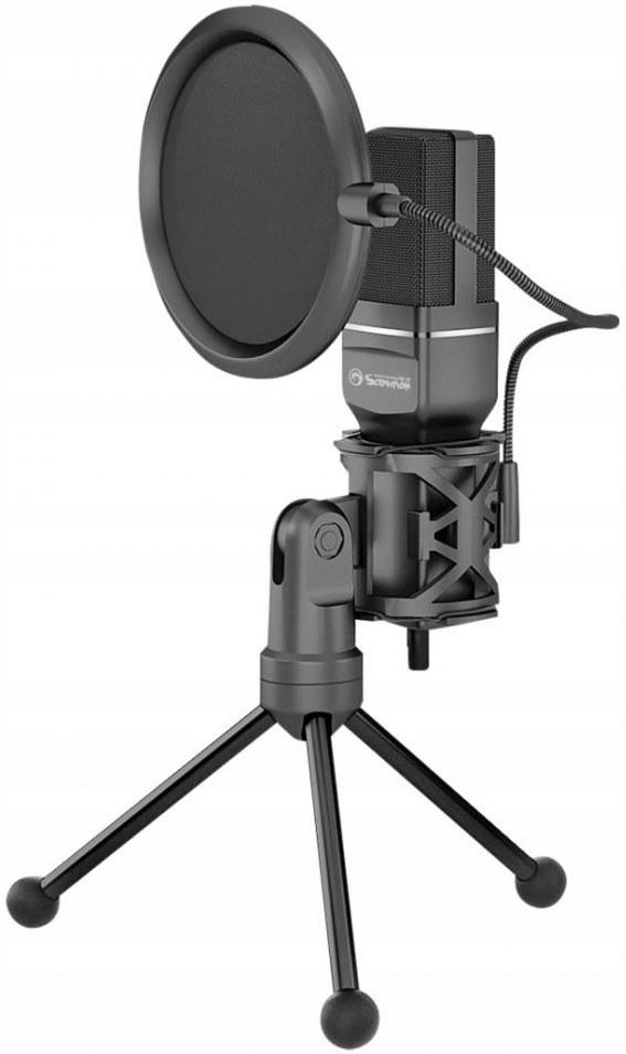 Marvo MIC-03, streamovací mikrofón s 270° otočným tripodom
