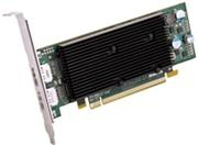 Matrox M9128 LP PCIe x16 DH DisplayPort graphics card, 1GB, resolutions up to 2560x1600, Win7, Vista, XP, Linux
