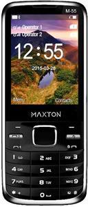 Maxcom M55, dual SIM, čierny