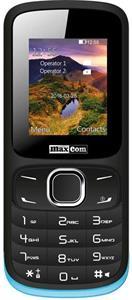 Maxcom MM128, dual SIM, čierny