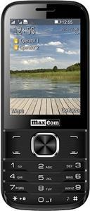 Maxcom MM237, mobilný telefón, DualSIM, čierny