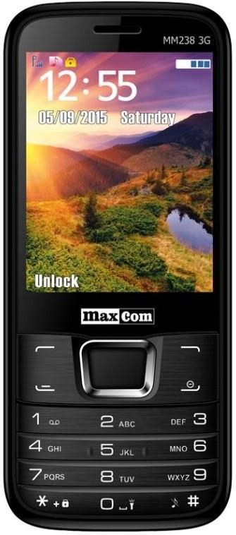 Maxcom MM238 3G Čierny