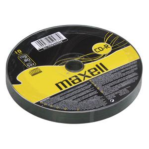 MAXELL CD-R 700MB 52X 10ks/spindel