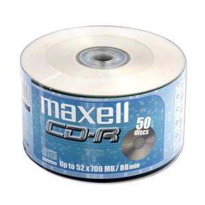 Maxell CD-R 700MB 52x, 50ks softpack