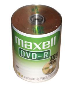 Maxell DVD+R 100 pack 16x/4.7 GB