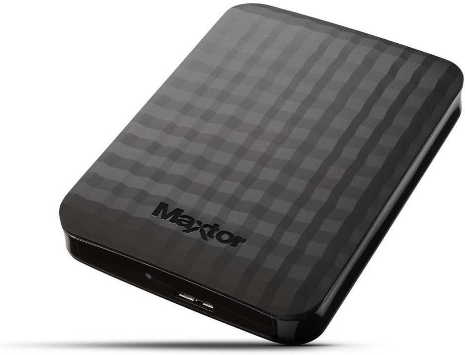 Maxtor M3 Portable 500GB, čierny