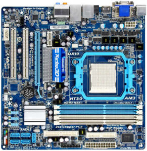 MB Gigabyte MA78LMT-US2H (rev. 1.1) (AM3)