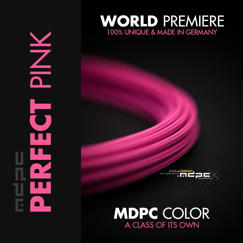MDPC-X Sleeve Small - Perfect Pink, 1m
