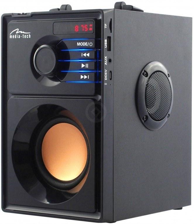 Media-Tech MT3145 Boombox BT, prenosný 2.1 bluetooth reproduktor