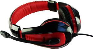 Media-Tech Nemesis MT3574, slúchadlá, červené