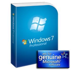 Microsoft GGK - Windows Professional 7 SP1 32-bit/64-bit Czech DVD