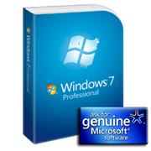 Microsoft GGK - Windows Professional 7 SP1 32-bit/64-bit English DVD