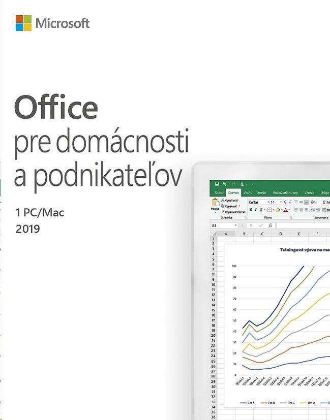 Microsoft Office 2019 pre domácnosti a podnikateľov - save now