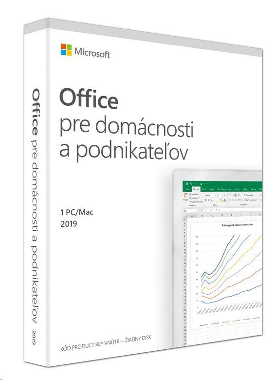 Microsoft Office 2019 pre domácnosti a podnikateľov