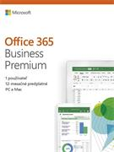Microsoft Office 365 Business Premium - Slovak Medialess
