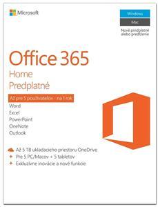 Microsoft Office 365 pre domácnosti