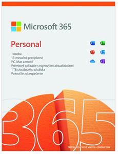 Microsoft Office 365 pre jednotlivcov, el. licencia