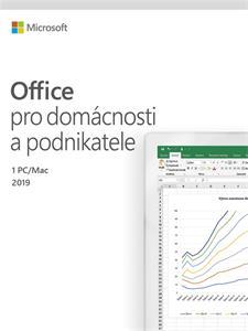 Microsoft Office pre podnikateľov 2019 Czech Medialess / Office Home and Business