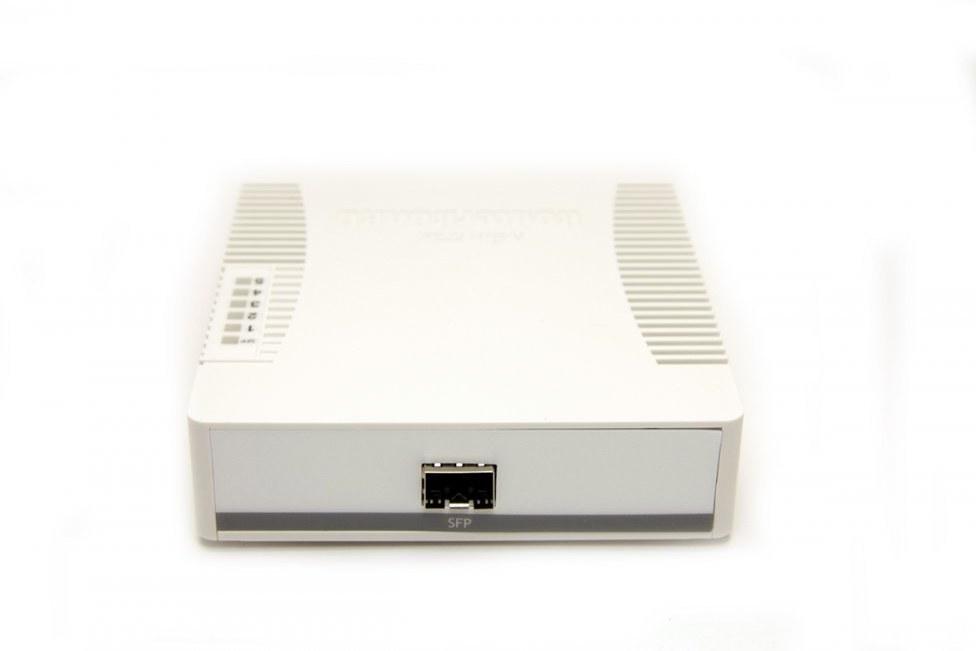 Mikrotik RB260GS, 5x Gbit + 1xSFP switch