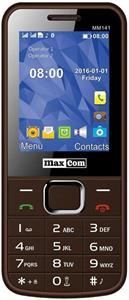 Mobilný telefón Maxcom MM141, DualSIM, hnedý