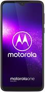 Motorola One Macro, 64 GB, Dual SIM, Fialový