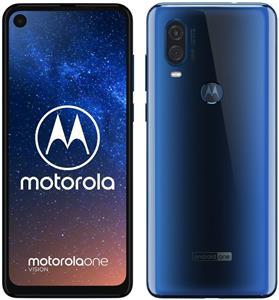 Motorola One Vision, 48 Mpx Ois, Modrý - otvorené balenie