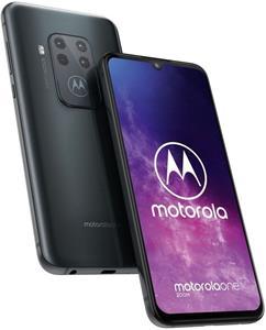 Motorola One Zoom, 128 GB, Dual SIM, sivý