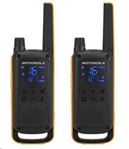 Motorola vysielačky TLKR T82 Extreme, čierno-žltá