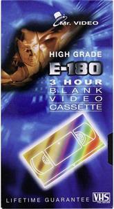 Mr.Video E-180 VHS