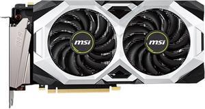 MSI GeForce RTX 2070 Super Ventus OC, 8 GB GDDR6, 3x DP, HDMI