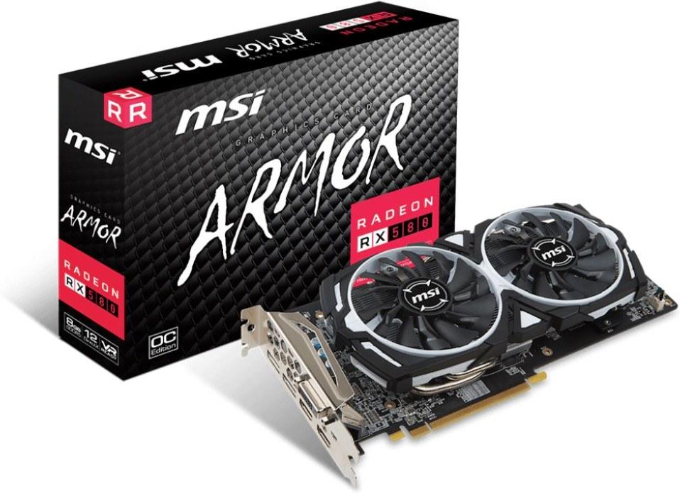 MSI RX 580 ARMOR 8G OC