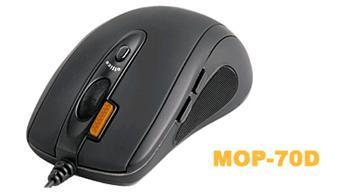 Myš A4 Tech optical MOP-70D black USB/PS2