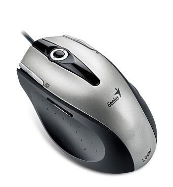 Myš Genius laser Ergo 555 silver USB