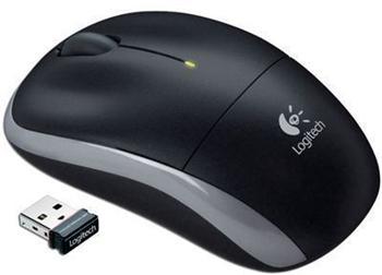 Myš Logitech optical M195 black wireless