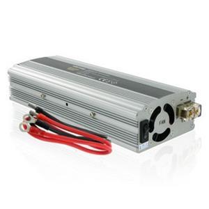 Napäťový menič Whitenergy AC/DC z 12V na 230V 800W, USB