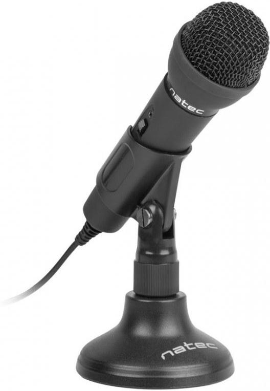Natec Adder mikrofón, 3,5mm jack