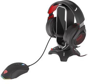 Natec Genesis headset stojan s myš bungee Vanad 500