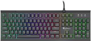 Natec Genesis THOR 210, herná hybridná klávesnica, CZ/SK