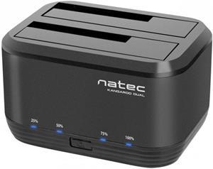 "Natec Kangaroo Dual Dock, dokovacia stanica pre HDD 2,5""/3,5"" USB 3.0"