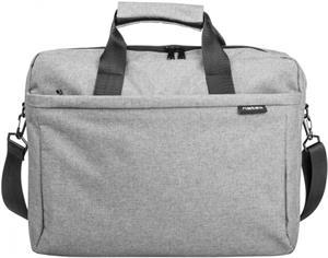 Natec Mustela taška na notebook, 15.6'' sivá
