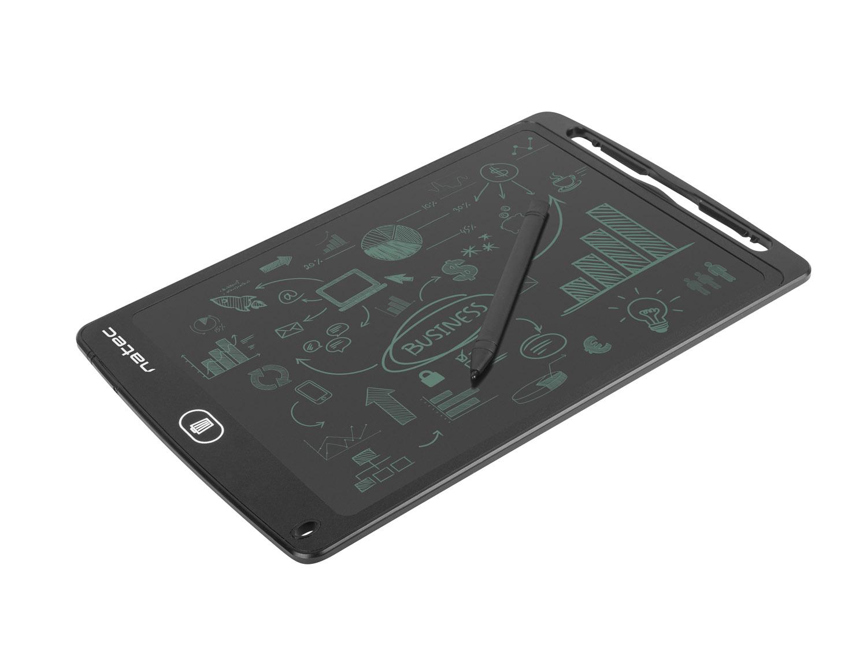 """Natec Snail 10"""" digitálny zápisník pre kreslenie a písanie, magnetický držiak"""