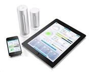 Netatmo Urban Weather Station, meteostanica pre iPhone/iPad/iPod Touch Silver