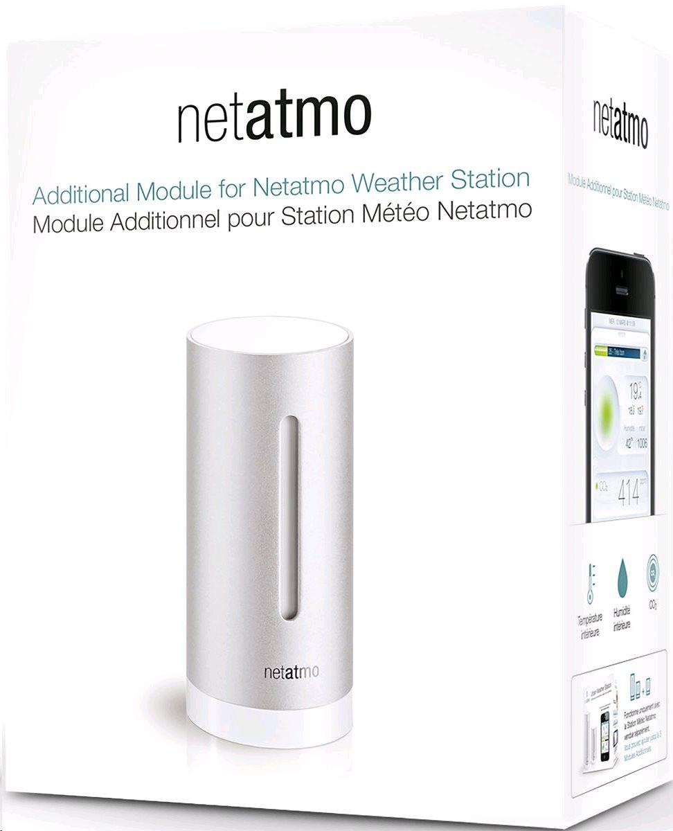 Netatmo Urban Weather Station, prídavný Indoor modul