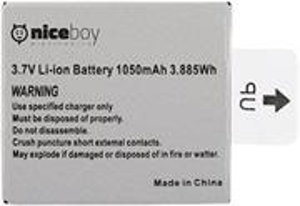 Niceboy 1050 mAh, náhradná batéria