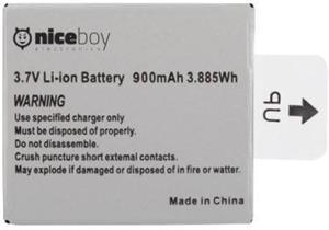 Niceboy 900 mAh, náhradná batéria