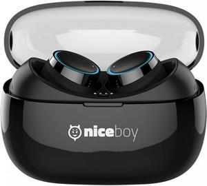 Niceboy HIVE pods, True Wireless slúchadlá, čierne