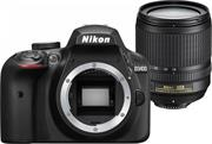Nikon D3400 + 18-105 VR čierny