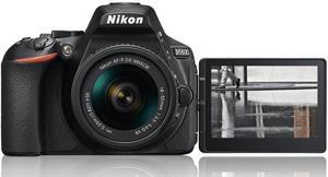 Nikon D5600 + 18-55 AF-P VR KIT čierny